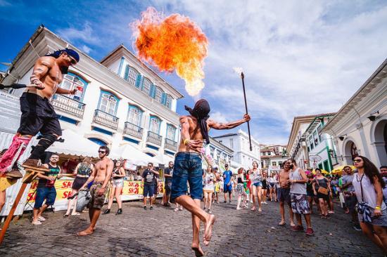 28f0261423245 Com o intuito de divulgar os antigos carnavais a prefeitura de Ouro Preto  promove o Carnaval Patrimônio. (Crédito  Ascom OP)