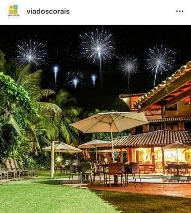 Hotel Via dos Corais que fica localizado na Praia do Forte é uma otima  pedida pra passar o Réveillon. (Crédito  Divulgação) 476aa09049